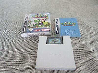Game Boy Advance GBA Super Mario World Compleet