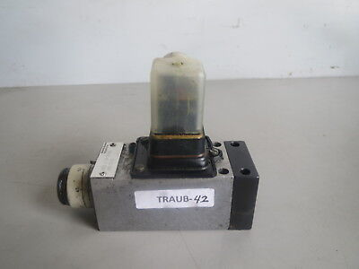 Traub Mannesmann Rexroth Valve Hed 4 0p 1650 Hed 4 Op 1650 Lot Traub-42 Remi