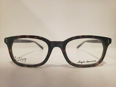 Anglo American Optical Mod 379 Eyeglasses/ Eyewear Made In England 50-19mm (American Made Eyewear)