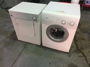 Whirlpool RV/apartment washer dryer set