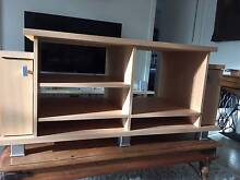 Timber TV/DVD entertainment unit Newstead Brisbane North East Preview