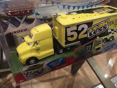 Disney Pixar World of Cars Race O Rama #6 Leak Less Hauler MISB