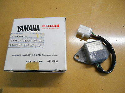 NOS Yamaha 1973-1974 TX500 1975-1977 XS500 Voltage Regulator 2G7-81910-50