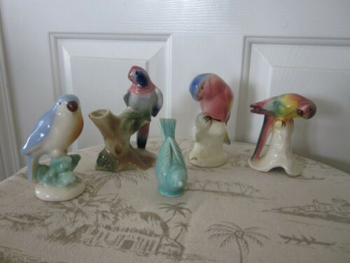 Royal Copley Bird - Parrots & U.S.A  Bird Figurines 1940