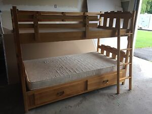 Captains Solid Wood Bunk Beds