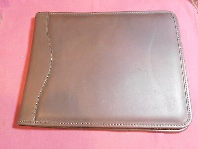 Jack Georges Leather Portfolios New Brown