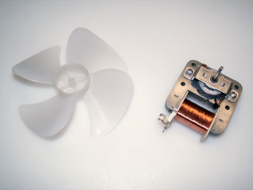 "4.9"" Cooling/Vent Fan - 120VAC 20W - Open-frame Motor, 4-blade - Project, Hobby"