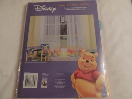 Winnie The Pooh nursery curtains