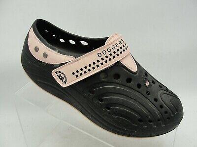 DOGGERS BLACK PINK Strap Womens Clog ULTRA LITE Shoe LADIES COMFORT SZ 6 - Ladies Ultra Lite Comfort Clog