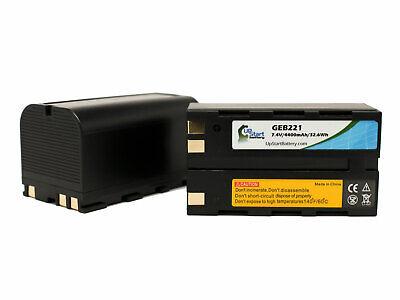 2x Geb221 Battery For Leica Gps1200 Geb221 Gx1200 Gps900 Series Atx1200