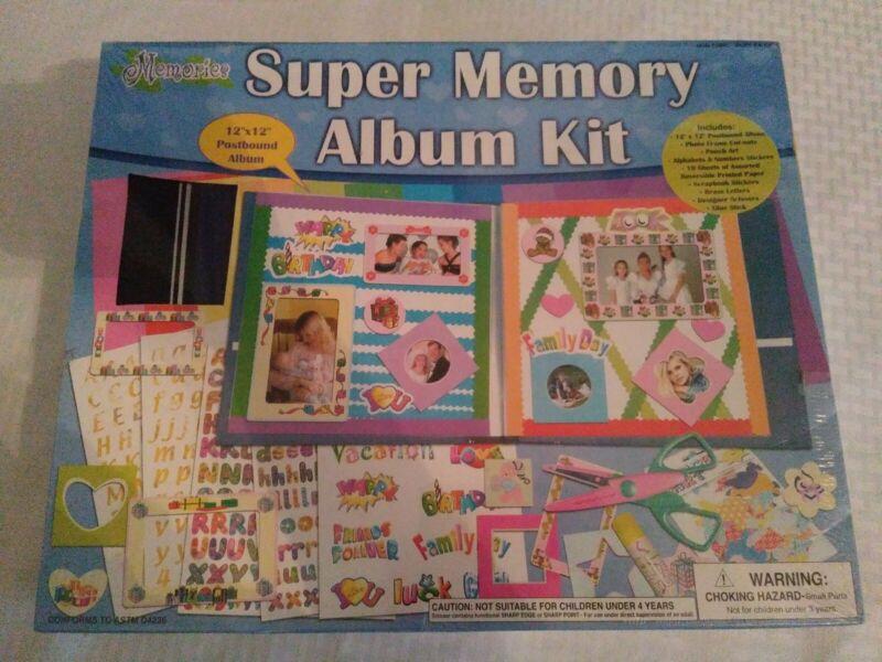 Super Memory Album Kit Memories