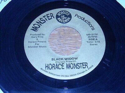 HORACE MONSTER 45.  IT FEELS LIKE GOLD  /  BLACK WIDOW.  PSYCH VG+.