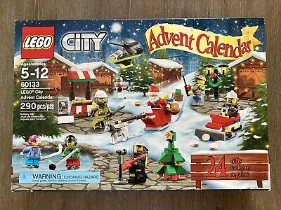 LEGO City Advent Calendar 60133 2016 Opened/Complete