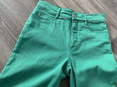 Atelier Gardeur Venus Womens Sz 34, 8 UK Casual Green Cropped Jeans Trousers
