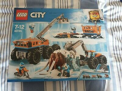 LEGO 60195 City Arctic Mobile Exploration Base Brand new sealed