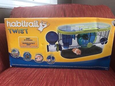 Habitrail OVO Suite and Twist hamster cage with extra tubes and cage Habitat NOb for sale  Roanoke