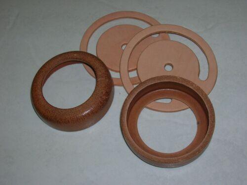 "2-SETS  PITCHER PUMP    2-Pc.  leather repair parts.  3""  CUP &  LOWER VALVE."