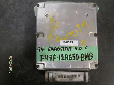94 FORD EAROSTAR 3.0  FED'  ECU #F47F-12A650-BMB F-0023 *See item description*