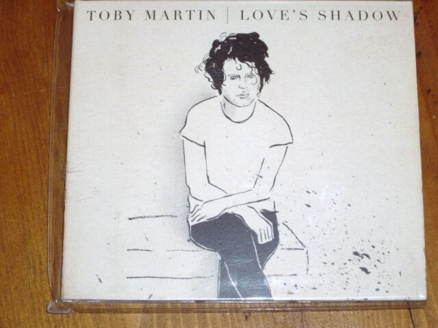 TOBY MARTIN *RARE CD ' LOVE'S SHADOW '  2012 EXC