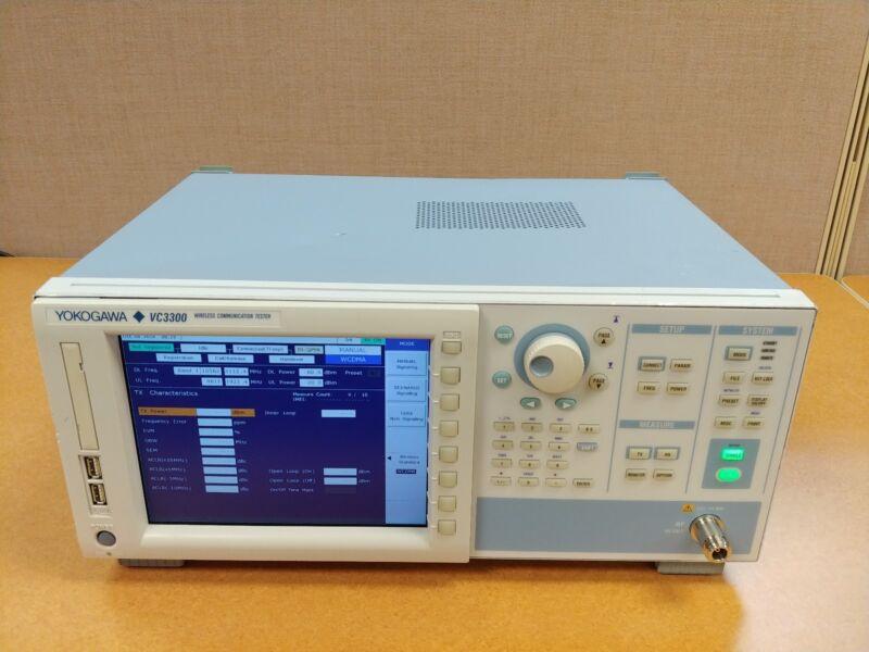 Yokogawa VC3300 Wireless Communication Tester WCDMA GSM