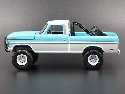 1969 FORD F-100 SHORT BED 4X4 PICK UP TRUCK RARE 1/64 COLLECTIBLE DIECAST MODEL