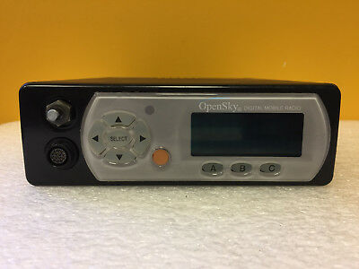 Ma-com Tyco M-803 800 Mhz Transceiver Digital Mobile Radio. Missing Knob