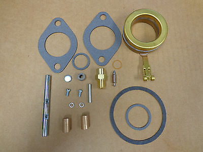 Carburetor Carb Kit With Throttle Shaft For John Deere B Dltx 10 34 With Float