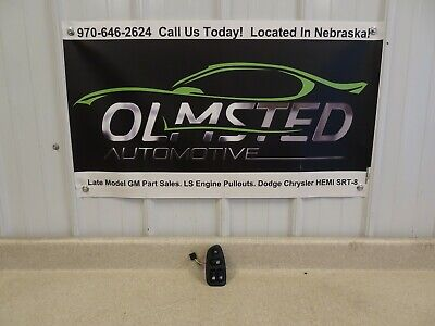 93 02 Chevy Camaro Driver Side Window Switch OEM Ebony LH GM Left Black