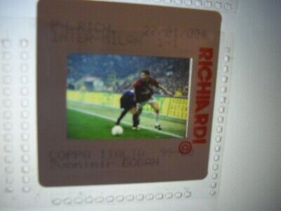 Press Photo slide negative AC Milan Zvonimir Boban 27.1.2000 (1) for sale  Shipping to South Africa