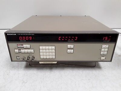 Boonton 1130 Distortion Analyzer For Parts Or Repair