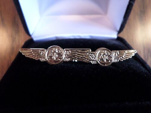 US MILITARY NAVY AIRCREW WINGS CUFFLINKS WITH JEWELRY BOX 1 SET CUFF LINKS BOXED