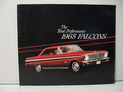 Ford Falcon Catalog (1965 Ford Falcon Futura Car Dealer Sales Brochure)