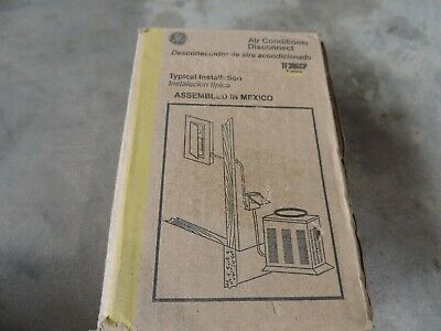 Ge 30 Amp 120240-volt 240-watt Fused Ac Disconnect