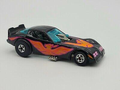 Hot Wheels 1977 Black Pontiac Firebird Funny Car Orange Bird 1:64 FREE SHIPPING