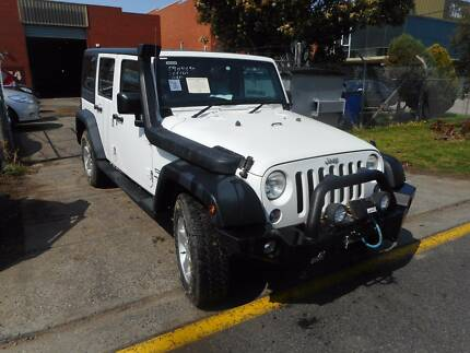 WRECKING 2014 JEEP WRANGLER 4X4 JK 4D 3.6 AUTOMATIC
