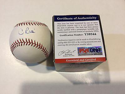 Secretary Of State Condoleezza Rice Signed Official Baseball Omlb Psa Dna Coa A