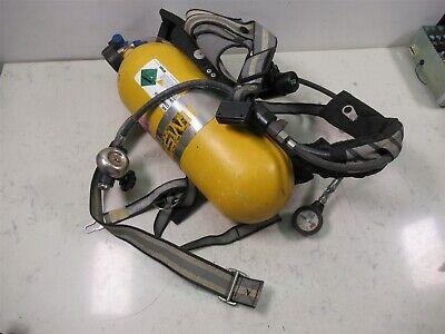 Msa Frame Harness Scba Air Pack Bottle Cylinder Tank Holder Respirator