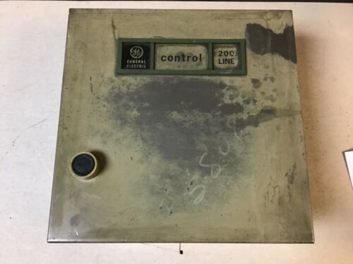 General Electric GE CR209B1 Size 0 Reversing Motor Starter, 460 Volt Coil, Enclo
