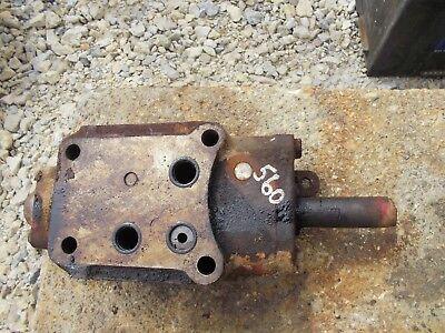 Farmall 460 560 Rowcrop Tractor Ihc Working Hydraulic Control Valve Ihc