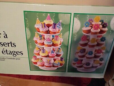 Wilton 4-Tier Stacked Cupcake and Dessert Tower 4