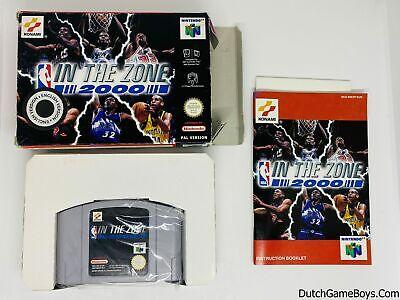 NBA In The Zone 2000 - EUR - Nintendo 64 - N64