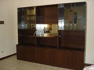 BUFFET/WALL UNIT WITH BAR Murdoch Melville Area Preview