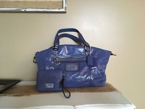 Authentic coach purse and wallet set