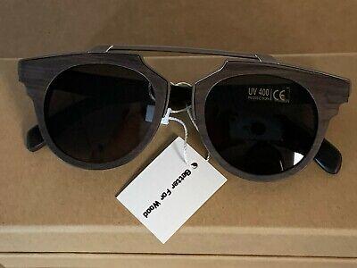Better for Wood Sunglasses for Men Women UV400 Polarized Wood