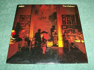 NEW SEALED 1981 ABBA THE VISITORS LP 33 1/3 ALBUM ATLANTIC SD 19332 POLAR MUSIC