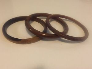 3 wooden bangles Highgate Perth City Area Preview