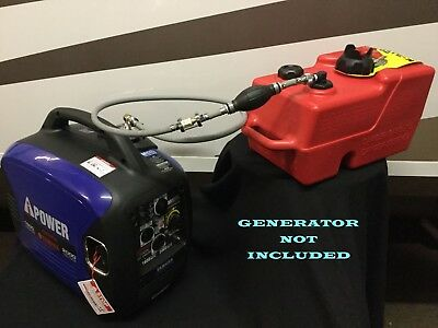 A-ipower Sc2000 Inverter Generator 3 Gal Ext Run Marine Fuel System Single Line