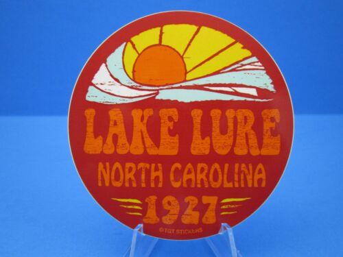 """LAKE LURE NORTH CAROLINA NC.""  SOUVENIR STICKER / DECAL  (VERY NICE)"