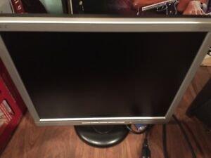 NEC LCD 1712 monitor with cable