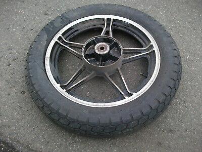 Hinterrad Felge mit Dunlop Reifen und Radlager Honda FT 500  FT500 ()